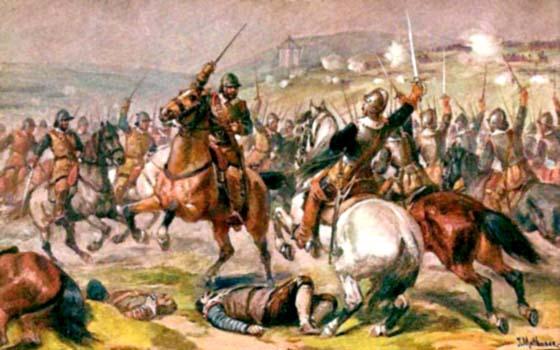 Slavné bitvy na českém území
